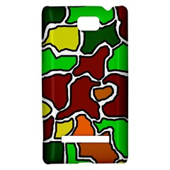 Africa abstraction HTC 8S Hardshell Case
