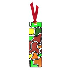 Africa abstraction Small Book Marks