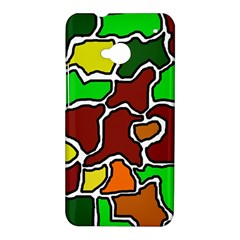 Africa abstraction HTC One M7 Hardshell Case