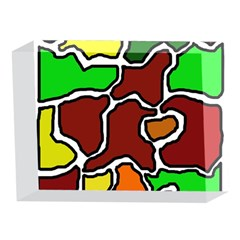 Africa abstraction 5 x 7  Acrylic Photo Blocks