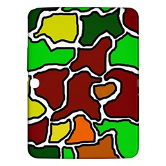 Africa abstraction Samsung Galaxy Tab 3 (10.1 ) P5200 Hardshell Case