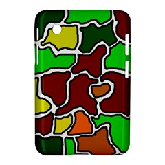 Africa abstraction Samsung Galaxy Tab 2 (7 ) P3100 Hardshell Case