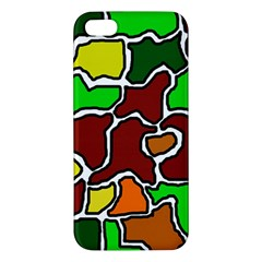 Africa abstraction iPhone 5S/ SE Premium Hardshell Case