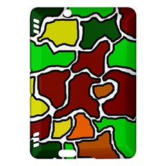 Africa abstraction Kindle Fire HDX Hardshell Case