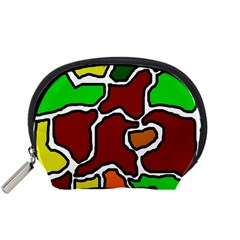 Africa abstraction Accessory Pouches (Small)