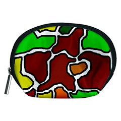 Africa abstraction Accessory Pouches (Medium)