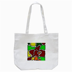 Africa abstraction Tote Bag (White)