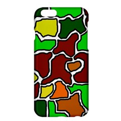 Africa abstraction Apple iPhone 6 Plus/6S Plus Hardshell Case