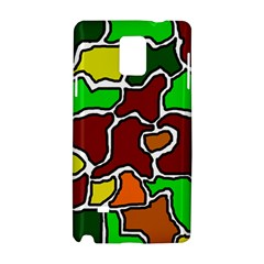Africa abstraction Samsung Galaxy Note 4 Hardshell Case