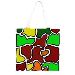 Africa abstraction Grocery Light Tote Bag
