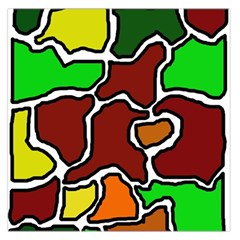 Africa abstraction Large Satin Scarf (Square)