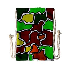 Africa abstraction Drawstring Bag (Small)