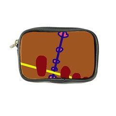 Brown abstraction Coin Purse