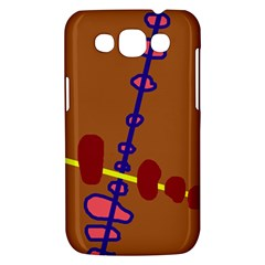 Brown abstraction Samsung Galaxy Win I8550 Hardshell Case