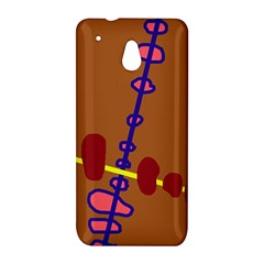 Brown abstraction HTC One Mini (601e) M4 Hardshell Case
