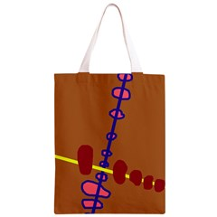 Brown abstraction Classic Light Tote Bag