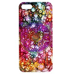 Distressed Mandala Apple iPhone 5 Hardshell Case with Stand