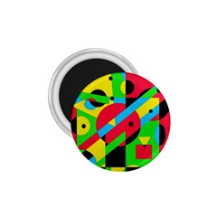 Colorful geometrical abstraction 1.75  Magnets