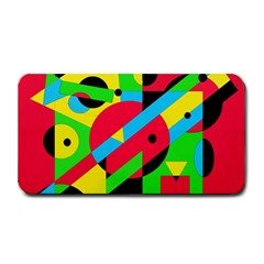 Colorful geometrical abstraction Medium Bar Mats