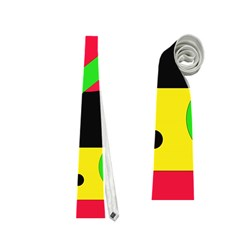 Colorful geometrical abstraction Neckties (Two Side)