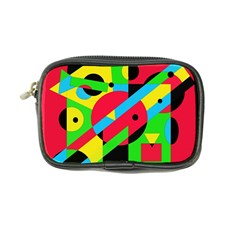 Colorful geometrical abstraction Coin Purse
