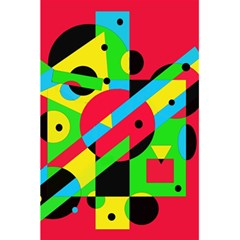 Colorful geometrical abstraction 5.5  x 8.5  Notebooks