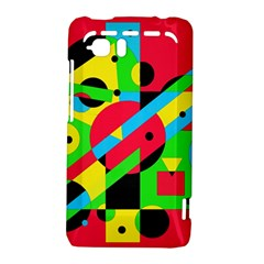 Colorful geometrical abstraction HTC Vivid / Raider 4G Hardshell Case