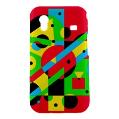 Colorful geometrical abstraction Samsung Galaxy Ace S5830 Hardshell Case
