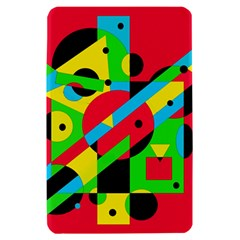 Colorful geometrical abstraction Kindle Fire (1st Gen) Hardshell Case