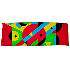 Colorful geometrical abstraction Body Pillow Case (Dakimakura)