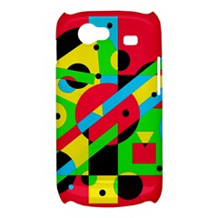 Colorful geometrical abstraction Samsung Galaxy Nexus S i9020 Hardshell Case
