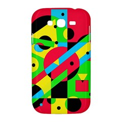 Colorful geometrical abstraction Samsung Galaxy Grand DUOS I9082 Hardshell Case