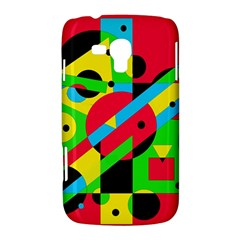 Colorful geometrical abstraction Samsung Galaxy Duos I8262 Hardshell Case