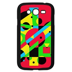 Colorful geometrical abstraction Samsung Galaxy Grand DUOS I9082 Case (Black)