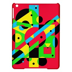 Colorful geometrical abstraction iPad Air Hardshell Cases