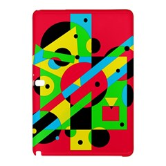 Colorful geometrical abstraction Samsung Galaxy Tab Pro 10.1 Hardshell Case