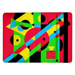 Colorful geometrical abstraction Samsung Galaxy Tab Pro 12.2  Flip Case