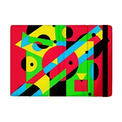 Colorful geometrical abstraction iPad Mini 2 Flip Cases