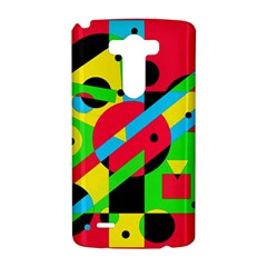 Colorful geometrical abstraction LG G3 Hardshell Case