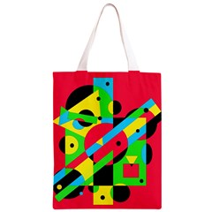 Colorful geometrical abstraction Classic Light Tote Bag