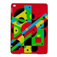 Colorful geometrical abstraction iPad Air 2 Hardshell Cases
