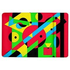 Colorful geometrical abstraction iPad Air 2 Flip