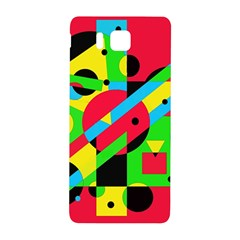 Colorful geometrical abstraction Samsung Galaxy Alpha Hardshell Back Case