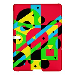 Colorful geometrical abstraction Samsung Galaxy Tab S (10.5 ) Hardshell Case