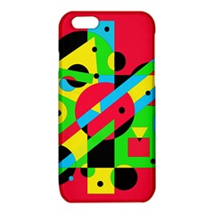 Colorful geometrical abstraction iPhone 6/6S TPU Case