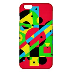 Colorful geometrical abstraction iPhone 6 Plus/6S Plus TPU Case