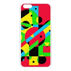Colorful geometrical abstraction Apple Seamless iPhone 6 Plus/6S Plus Case (Transparent)