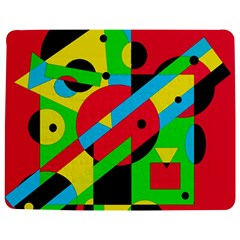 Colorful Geometrical Abstraction Jigsaw Puzzle Photo Stand (rectangular)