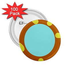 Abstract sun 2.25  Buttons (100 pack)