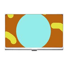 Abstract sun Business Card Holders